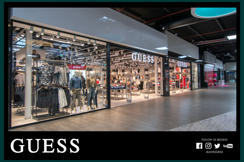 Tienda GUESS The Outlet Stores Alicante